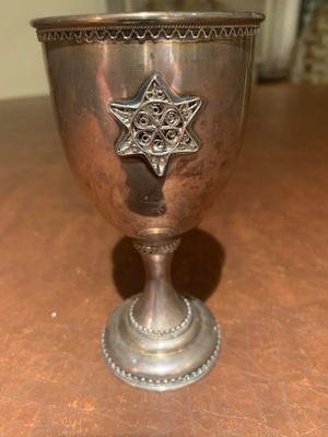 my great grandfather's kiddish cup