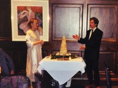 Krensekake, Swedish Wedding Cake