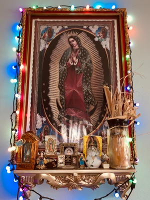 Home Shrine of Virgen de Guadalupe