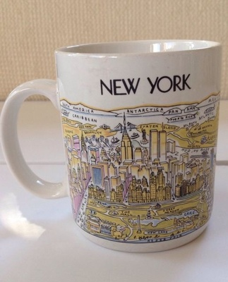 My mother's NYC mug