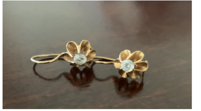 Earrings from Samarkand