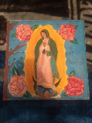 Virgen De Guadalupe Drawing