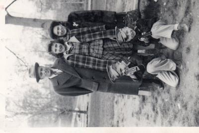 Sara and George Yacoubian & Children