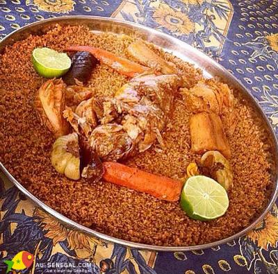 a senegalese meal called Riz Au Gras