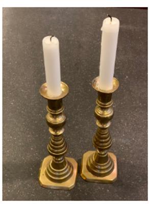 Sabbath Candle Sticks