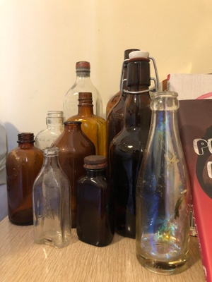 Some bottles my grandpa collected