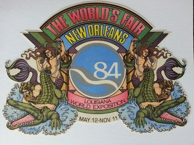 Official Poster of the 1984 World's Fair