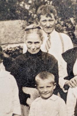 Anastasia, son Daniel, grandson John