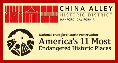 To learn more about the China Alley Historic District, please visit: www.chinaalley.com.