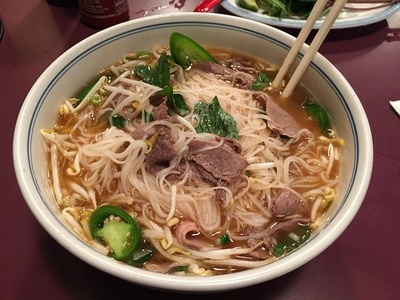 Homemade pho my great grandmother made