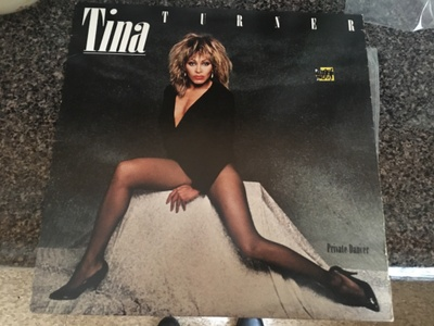 Tina Turner record, passed down to Monique by her mother