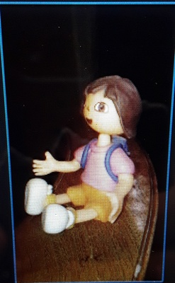 The Dora doll my mother gave me.