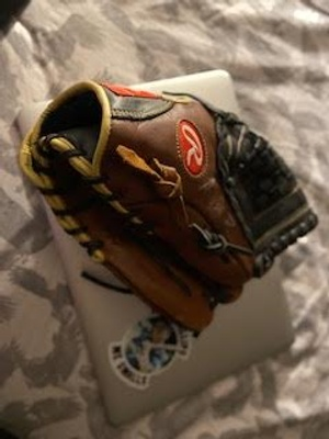 My first Cal Ripken glove.
