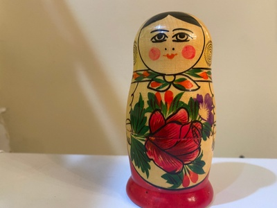This is my Mom's Polish Stacking doll.