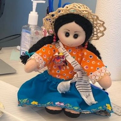 Ecuadorian Traditional Doll