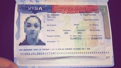 My visa