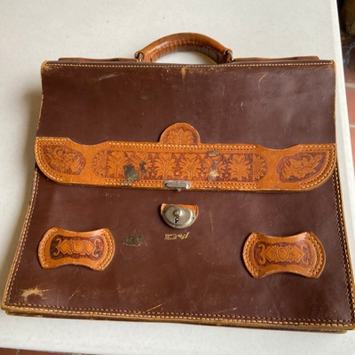 Briefcase from Guatemala