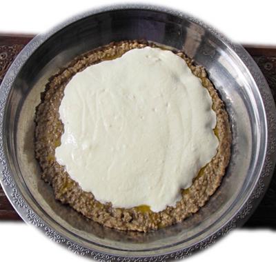 milk with millet flour