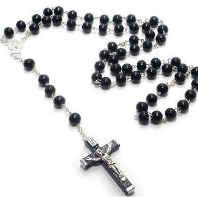 This is a rosary, used to pray with.