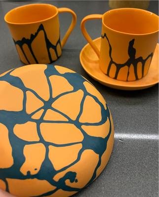 Ceramic Handmade Coffee Cup Set