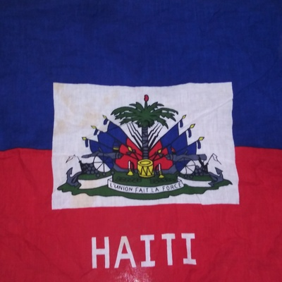 The Haitian Flag