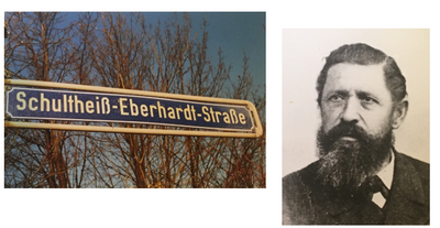 Great-Great Grandfather and Street Sign