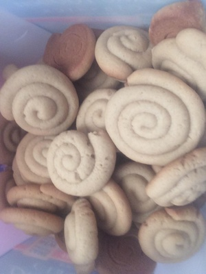 This is a picture of the cookies