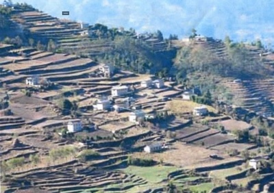 Sherpa's hometown in Nepal