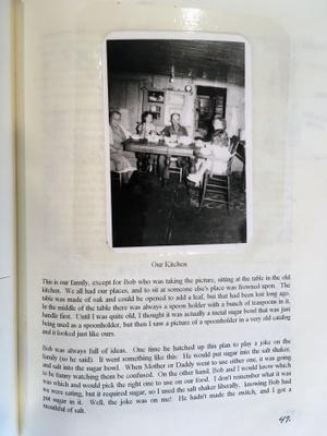 The kitchen of her girlhood