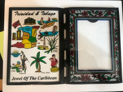 """A picture frame with the """"Jewels"""""""