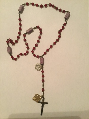1800s Rosary made in Italy