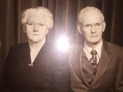 Paternal great-grandparents, Mae Sunderland Webster and David Victor Webster