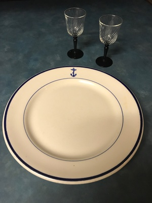 Highland City Cafe Plate