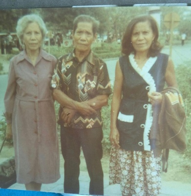 My Grandfather and his family