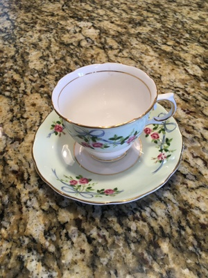 Photo of my great grandmother's teacup.