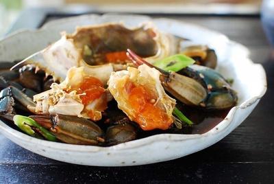 ganjang gejang, a korean dish