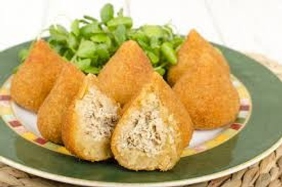 Coxinha- a popular food in Brazil bakery