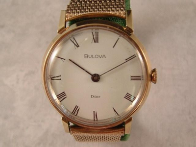Gold Italian Watch
