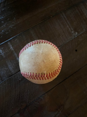 My Uncle's First Home Run Ball
