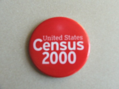 Button for United States Census 2000