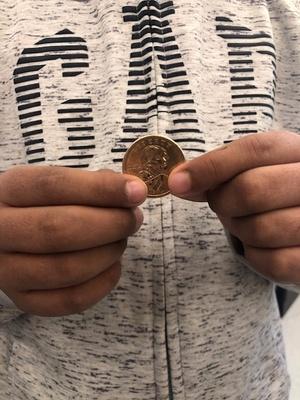 Dollar coin from Ecuador