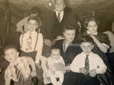 Great Grandparents Biaggio & Rose Vecchione with their children