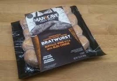 This is a pack of bratwursts