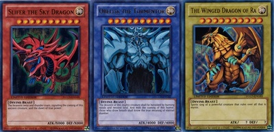 The three rarest cards in YiGiOh
