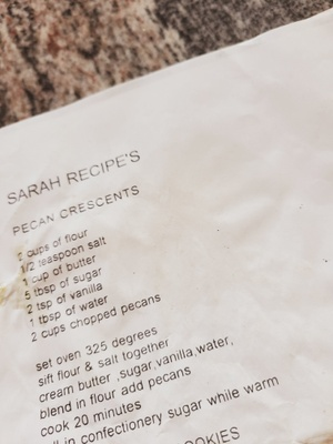 my grandmas cookie recipe