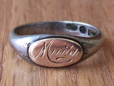 Finnish keepsake ring