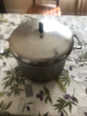 My great grandmother's pot, about 100 years old