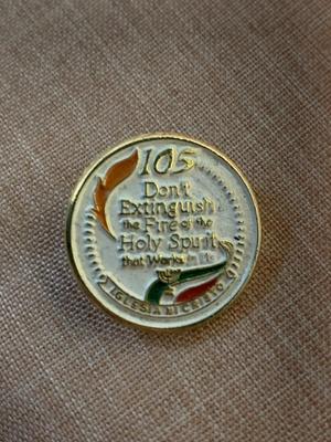 Pin from our church (Iglesia ni Cristo).