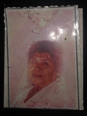 Photograph of my great-grandmother
