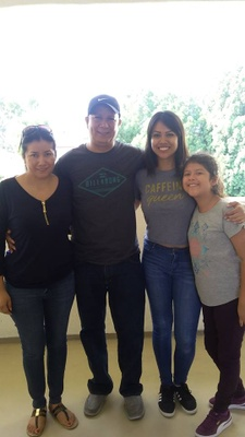 Move-in day at CSUCI! My family was very sad that I left, but were very supportive.